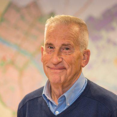 Wijkraadslid Piet Langmuur (2018)